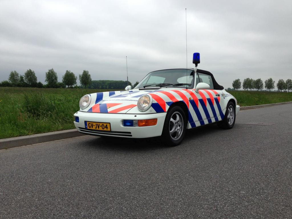 politie Porsche