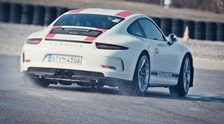 Porsche 911R speculanten