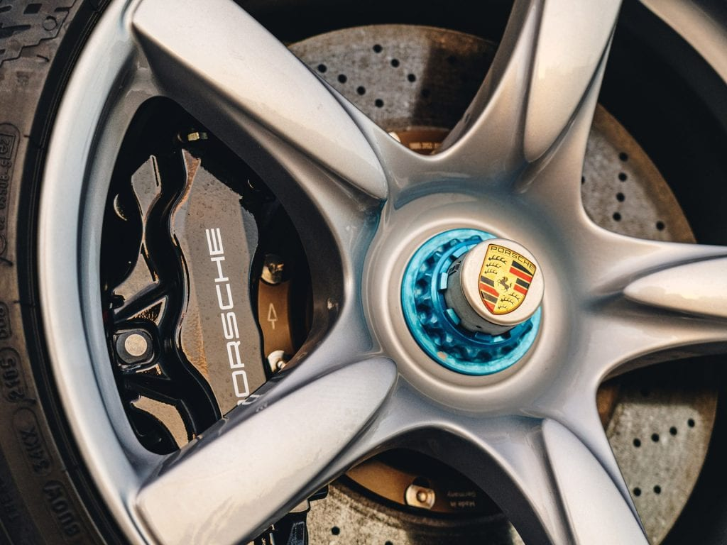 Porsches in Monterey