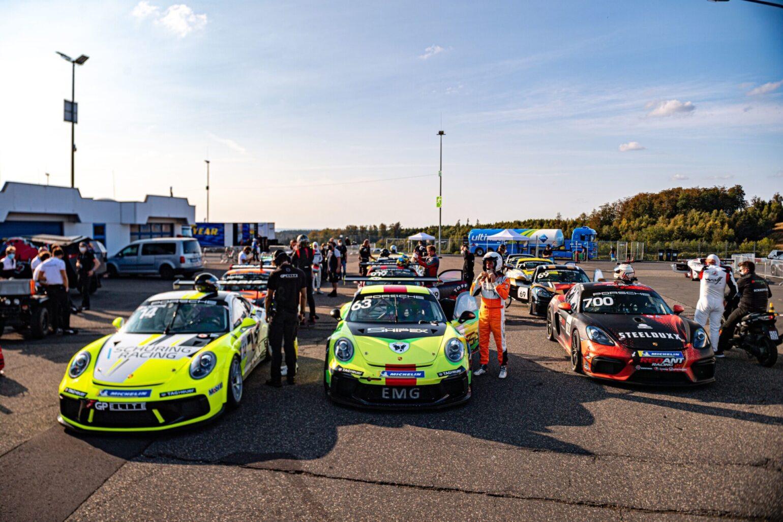 In de Sprint Trophy kan zowel met de 911 GT3 Cup (991.1 en 991.2) als met de 718 Cayman GT4 Clubsport gereden worden. (Foto: PR)