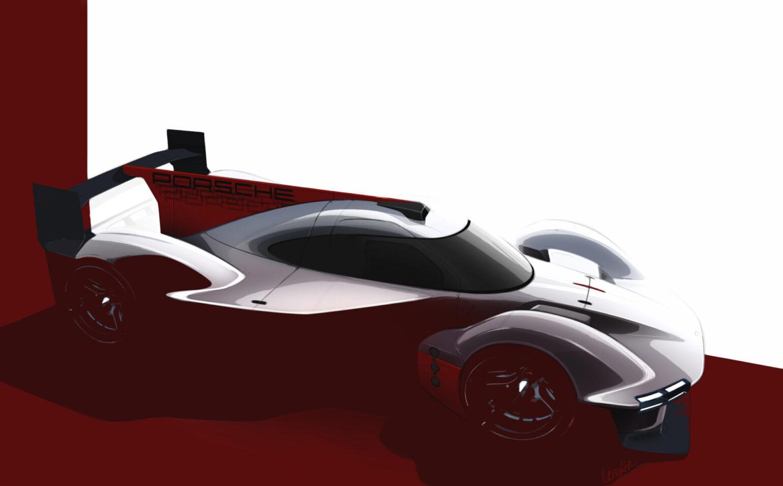 Ruim een week na zustermerk Audi kondigt ook Porsche voor 2023 een prototype voor de LMDh-categorie aan. (Foto: Porsche)