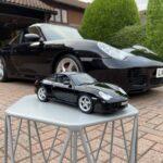 Porsche in het groot en in het klein